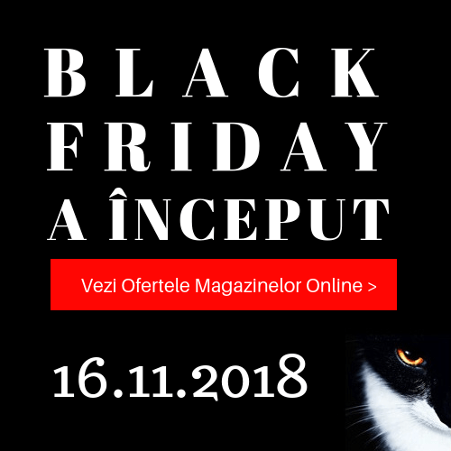 Black Friday 2018 - lista magazinelor online