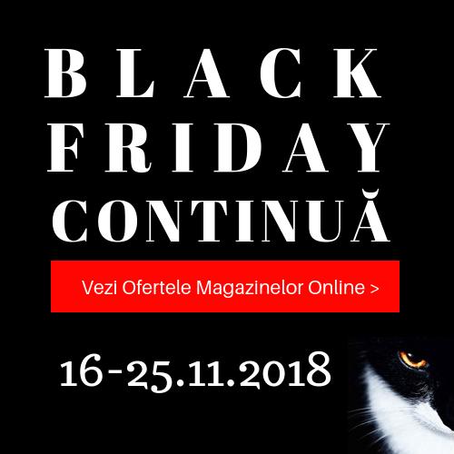 Black Friday 2018 - lista magazinelor online